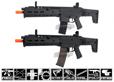 PTS Masada AKM UCR Airsoft Gun ( BLK / ACR Masada Lower Included )