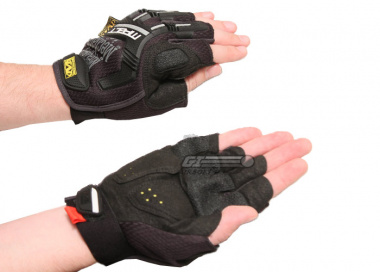 Mechanix Wear M-Pact Fingerless ( Black M / L / XL / 2XL )