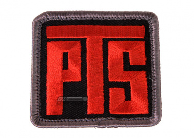 PTS Patch ( Blk / Red )