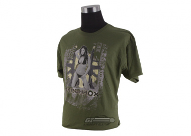 Mechbox Clothing Flash Bang T-Shirt ( Green / M )