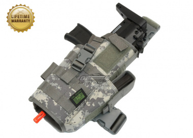 Pantac USA 1000D Cordura H&K MP7 Dropleg Holster ( ACU )