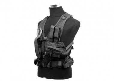 NC Star Childrens Tactical Crossdraw Vest ( BLK )