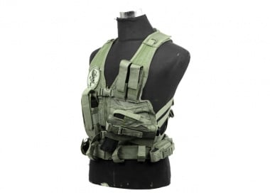 NC Star Childrens Tactical Crossdraw Vest ( OD )