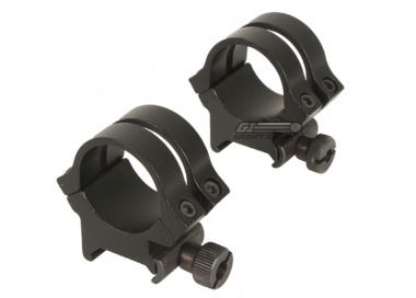 "NC Star 1"" Low Profile Scope Rings for Weaver Rail"