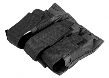 NC Star Triple Pistol Mag Pouch ( Black )