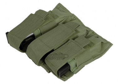 NC Star Triple Pistol Mag Pouch ( OD )