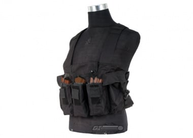 NC Star Magazine Chest Rig ( Black / Tactical Vest  )