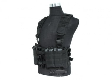NC Star M4 Chest Rig ( Black / Tactical Vest  )