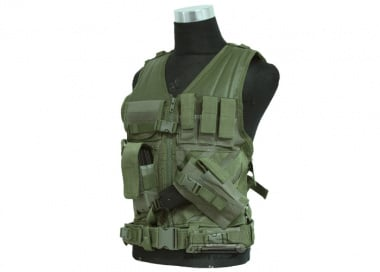 NC Star Crossdraw Tactical Vest ( S-L / OD )