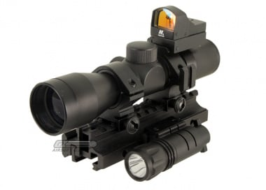 NC Star Rifle Performance Pack Scope ( Tactical Triple Threat )