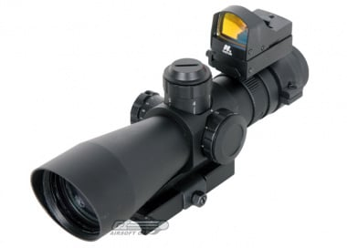 NC Star 3-9x42 Mark 3 Tactical Scope ( Mil-Dot Micro Red Dot )