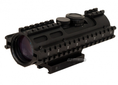 NC Star 3-9x42 3RS Series Scope ( Mil-Dot / Blue-Illuminated )