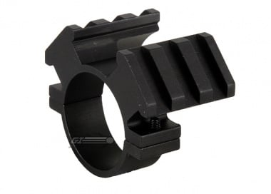 NC Star 30mm Scope Ring Mount w/ Double Weaver Rails
