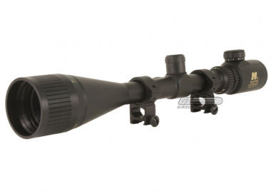 NC Star 6-24x50E Scope ( Red Dot w/ Green Lens Cover )
