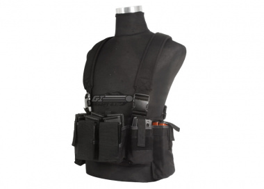 Airsoft GI BCT-3 Essential M4 / AK Ammo Chest Rig ( Black / Tactical Vest  )