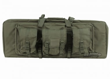 "Lancer Tactical 36"" Molle Dual Gun Bag (OD)"