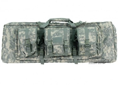 "Lancer Tactical 36"" Deluxe Molle Double Gun Bag w/ Flap (ACU)"