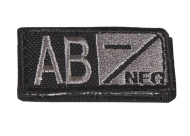 Condor Outdoor Velcro AB Negative Blood Type Patch ( Foliage )
