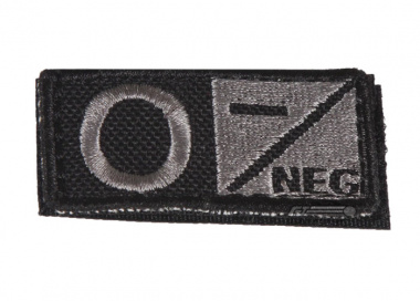 Condor Outdoor Velcro O Negative Blood Type Patch ( Foliage )
