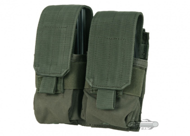 Condor Outdoor MOLLE Dual M14 Magazine Pouch ( OD )
