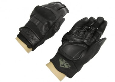 Condor Outdoor Kevlar Tactical Gloves ( Black / Large )