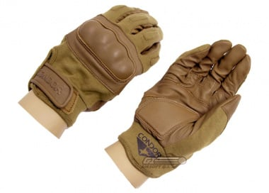 Condor / OE TECH Nomex Hard Knuckle Tactical Gloves ( Tan / XL - 11 )