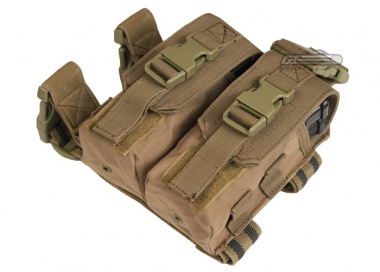 Condor Outdoor Drop Leg M4 Magazine Pouch ( TAN )