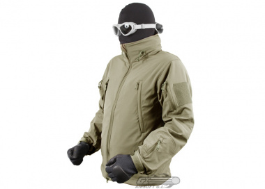 Condor / OE TECH Soft Shell Jacket ( Tan / XXXL )