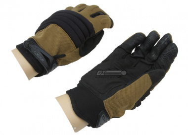 Condor / OE TECH Stryker Padded Knuckle Tactical Gloves ( Coyote / XXL - 12 )
