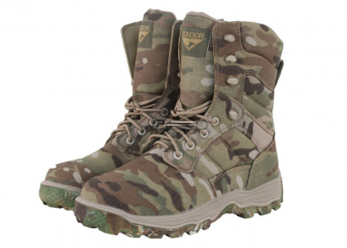 "Condor Elite 8"" Tactical Boots w/ YKK Side Zipper ( Multicam / Size 9 )"