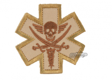 MM Tactical Medic Pirate Patch ( Tan )