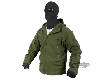 Condor / OE TECH Sierra Hooded Micro Fleece Jacket ( OD / S )