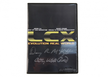 OPERATION Lion Claws 10 DVD Autographed by Col. McKnight ( ret. )
