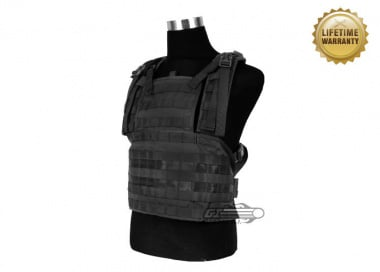 Pantac USA 1000D Cordura Molle MOD Vest ( Medium / Black )