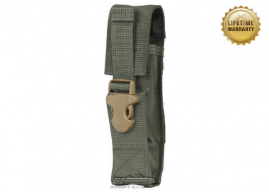 Pantac USA 1000D Cordura Molle Silencer / Airsoft Barrel Extension Pouch ( Ranger Green )