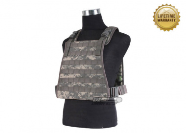 Pantac USA 1000D Cordura Spec Op Plate Carrier ( Medium / ACU / Tactical Vest )