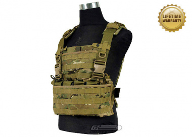 Pantac USA 1000D Cordura Molle MPS Chest Rig ( Multicam / Tactical Vest  )