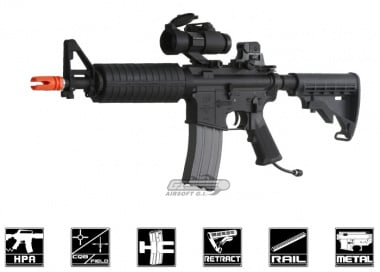 Polar Star Full Metal PR-15 CQBR Electro-Pneumatic Rifle Airsoft Gun
