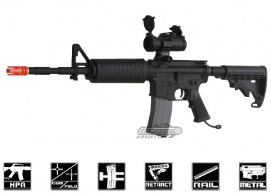 Polar Star Full Metal PR-15 Carbine Electro-Pneumatic Rifle Airsoft Gun