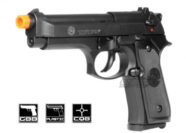 Taurus PT 92 GBB Airsoft Gun Licensed by Cybergun