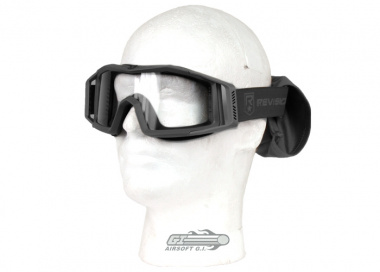 Revision Wolfspider Goggle ( Black / Clear )