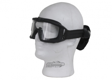 Revision Desert Locust Fan Goggle Basic Kit ( BLK w/ Clear Lens )