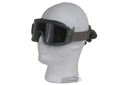 Revision Desert Locust Fan Goggle Essential Kit ( Foliage w/ Smoke Lens )