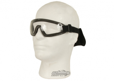 Revision Exoshield Extreme Low-Profile Goggles ( Black / Clear )
