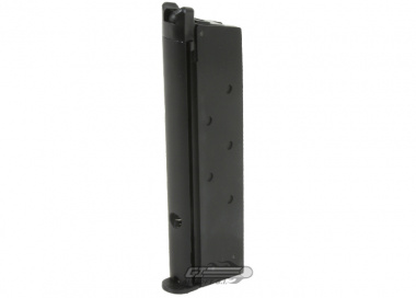 SOCOM Gear 15rd 1911 NOVAK / MEU Single Stack GBB Pistol Magazine ( Black )