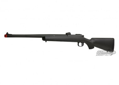 SOCOM Gear Full Metal R700 Bolt Action Sniper Rifle Airsoft Gun ( BLK )