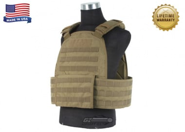 Specter Modular Plate Carrier ( L / Coyote / MPC1 / Tactical Vest )