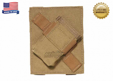 Specter MOLLE / PALS Compatible PFC PriMAC Magazine Pouch Angled Left For Right Handed Shooters ( Coyote Tan )