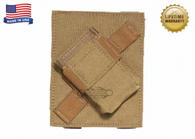Specter MOLLE / PALS Compatible PFC PriMAC Magazine Pouch Angled Right For Left Handed Shooters ( Coyote Tan )