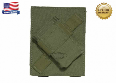 Specter MOLLE / PALS Compatible PFC PriMAC Magazine Pouch Angled Right For Left Handed Shooters ( Olive Drab )